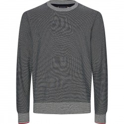 Contrast crew neck jumper by Tommy Hilfiger