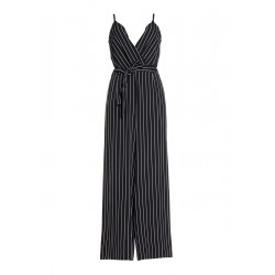 Striped overall by XT Studio