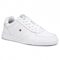 Lightweight leather sneaker by Tommy Hilfiger