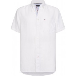 Short sleeve pure linen shirt by Tommy Hilfiger