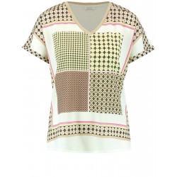 Top with a patchwork pattern by Gerry Weber Collection