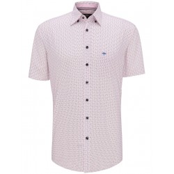Short sleeve shirt with a floral print by Fynch Hatton