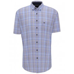 Checked casual fit shirt by Fynch Hatton