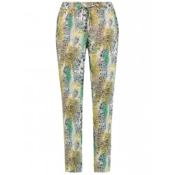 Patterned tracksuit bottom-style trousers by Gerry Weber Edition