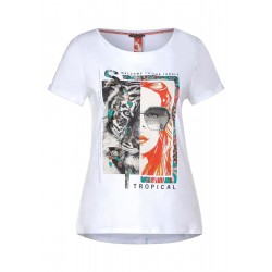 T-Shirt mit Frontprint by Street One