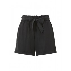 Relaxed shorts with a tie band by Tom Tailor Denim