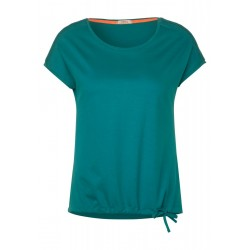 T-shirt with smock detail by Cecil