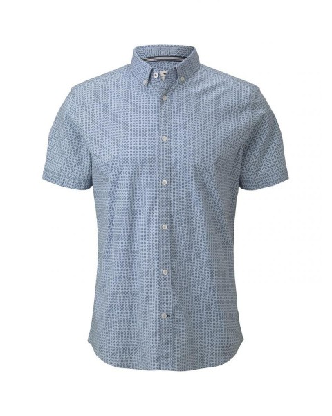 Patterned short-sleeved shirt by Tom Tailor