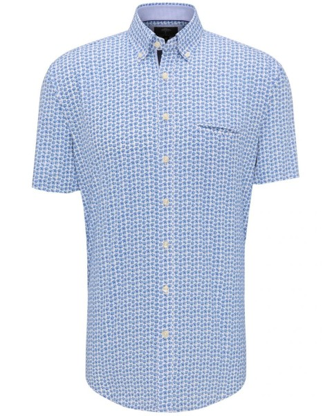 Patterned short-sleeved shirt by Fynch Hatton