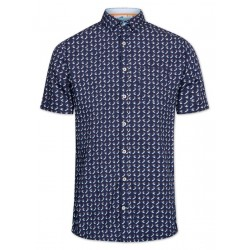 Modern Fit: chemise à manches courtes by Colours & Sons