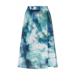 Skirt made from printed voile fabric by Marc O'Polo