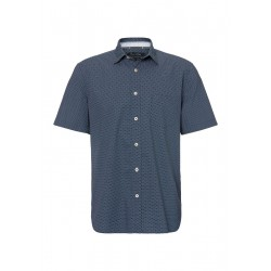 Regular fit short-sleeve shirt with an all-over mini print by Marc O'Polo
