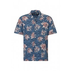 Relaxed short sleeve shirt made from pure cotton fabric by Marc O'Polo
