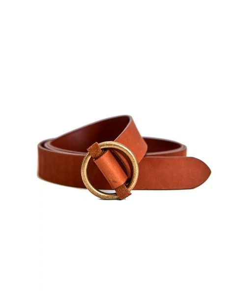 Leather belt Abambi belt by Opus