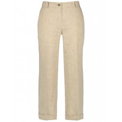 3/4-length trousers with fine line stripes by Gerry Weber Collection