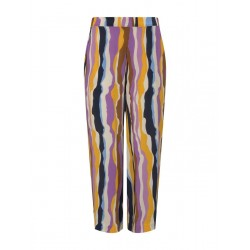 Flowing culotte with a tie belt by Tom Tailor Denim