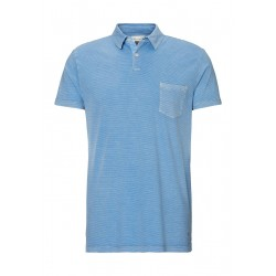 Regular fit short-sleeved polo shirt made from organic cotton jersey by Marc O'Polo