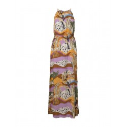 Printed maxi halter dress by Tom Tailor Denim