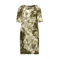 Dress with an all-over floral print by Marc O'Polo