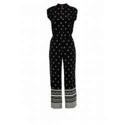 Viscose jumpsuit with an all-over pattern by s.Oliver Red Label
