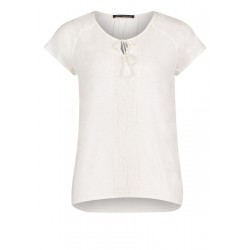 T-shirt en coton by Betty Barclay
