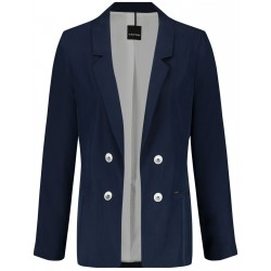 Blazer made of blended lyocell by Taifun