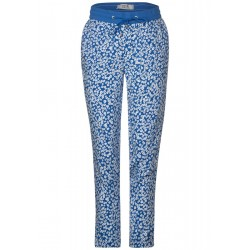 Pattern trousers in jogging style by Cecil