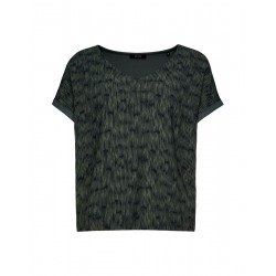 Shirt with V-neck Suminchen ethno by Opus