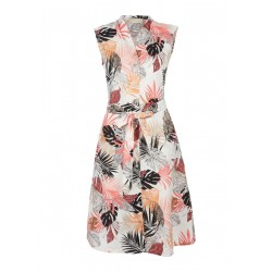 Robe en lin à motif all-over by s.Oliver Red Label
