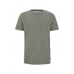 T-shirt with an all-over print by Tom Tailor Denim