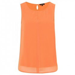 Top with a chiffon front by More & More
