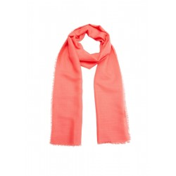 Long scarf with fringing by s.Oliver Red Label