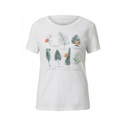 T-Shirt with a collage print by Tom Tailor