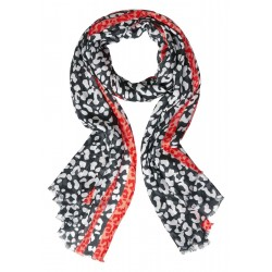 Leo Allover Print Scarf by Street One