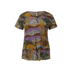 T-Shirt mit Cut-Outs by Tom Tailor Denim
