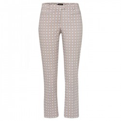 7/8 pants with mini pattern by More & More