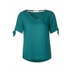 Bluse mit Knotendetail by Cecil
