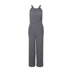 Halter jumpsuit with wide legs by Tom Tailor