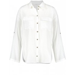 Blouse with roll-up sleeves by Gerry Weber Collection