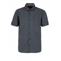 Regular fit : chemise à manches courtes by s.Oliver Red Label