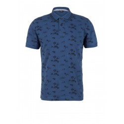 Poloshirt mit Allover-Print by s.Oliver Red Label