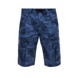 Relaxed fit : Cargo-Bermudes by s.Oliver Red Label
