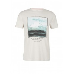 T-shirt with a front print by s.Oliver Red Label