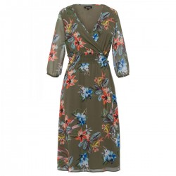 Tropical Summer Print Dress by More & More