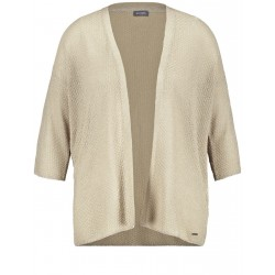 Cardigan with 3/4-length sleeves by Samoon