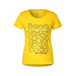 T-shirt with a front print by Cecil