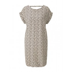 Patterned T-shirt dress with back details by Tom Tailor