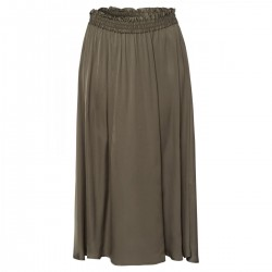 Fluent Satin Midi Skirt by More & More