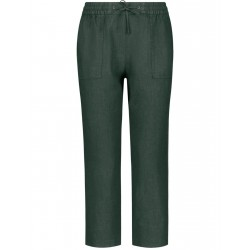 3/4-length linen trousers by Gerry Weber Casual