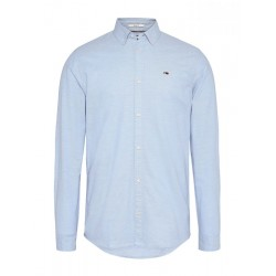 Stretch cotton slim fit shirt by Tommy Jeans